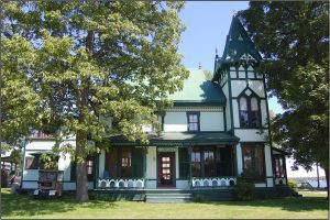 One of many charming Queen Anne style houses in Thousand Island Park