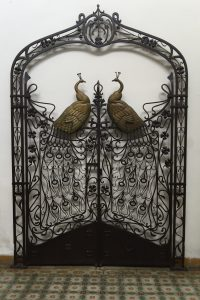 peacock-ironwork